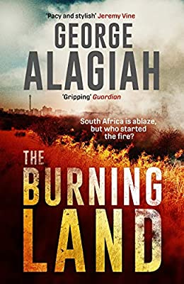 The Burning Land by George Alagiah paperback